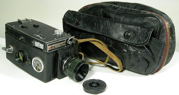35mm Russian Spy Camera Masquerades as a Harmless 8mm Video Camera spy1 mini