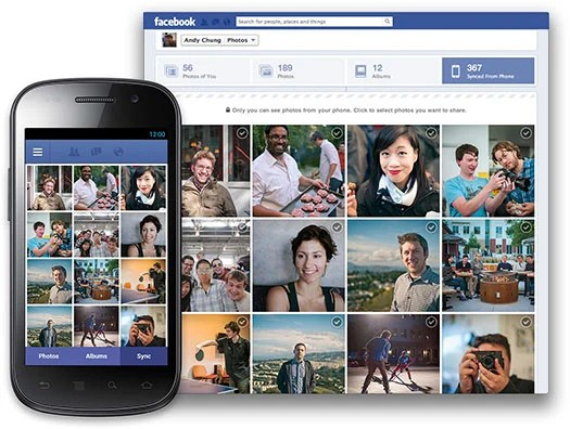 Facebook Photo Syncing Uploads Your Smartphone Photos As Theyre Shot fbsync