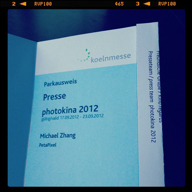 Photokina 2012: Follow @PetaPixel on Instagram for the Inside Scoop photokinapress