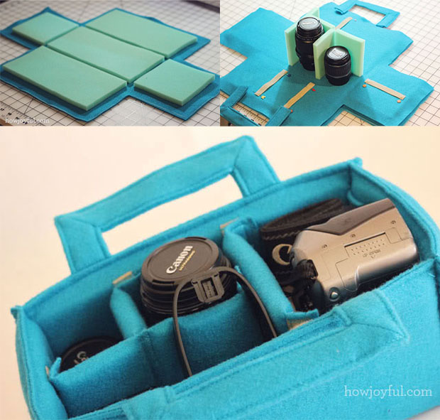 Make a DIY Camera Insert to Safely Carry Your Gear Inside Any Bag sewcamerainsert