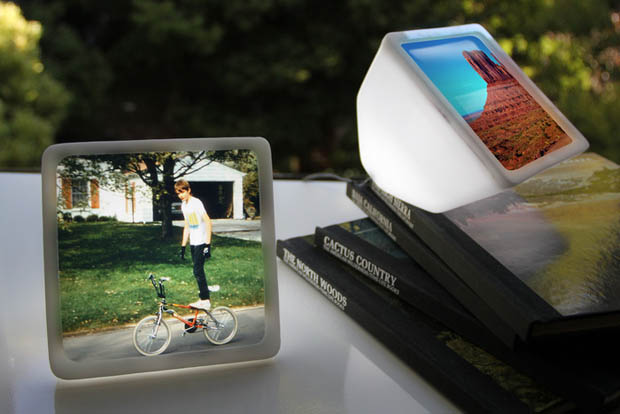 Geode: A Rechargeable Accent Light that Makes Your Photos Glow geode1