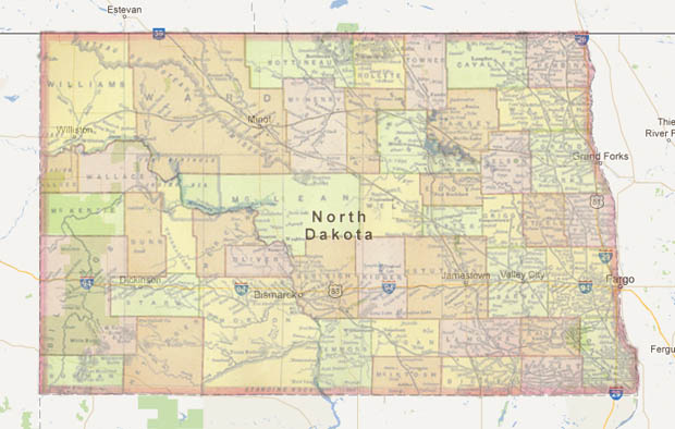 Photographer Visits Every Dot on the Map of North Dakota and Snaps 9,000+ Photos northdakota