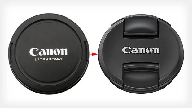 Canon Shows Off New Lens Cap Design: You Pinch Rather Than Squeeze canoncaps