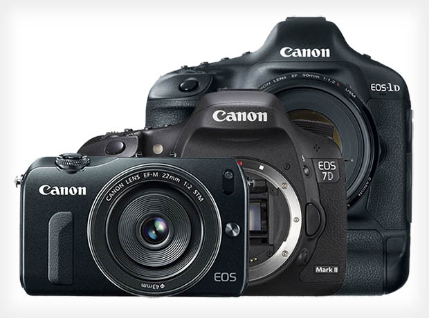 Canon Set to Unveil a New EOS M Camera and Two New DSLRs in Early 2013 canonupcoming