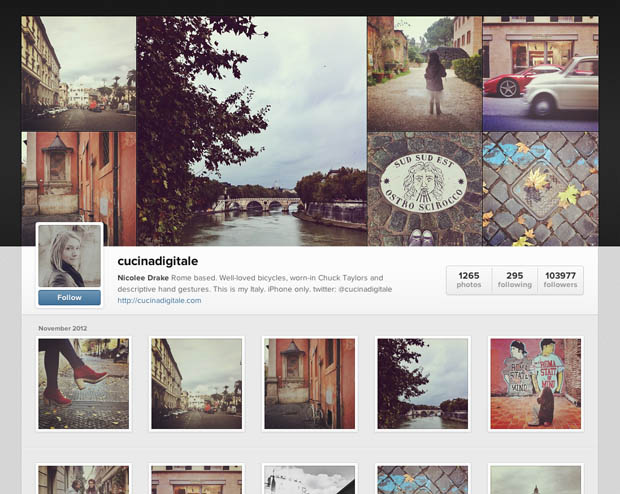 Instagram Launches Web Profiles, Looks Much More Like a Social Network instagramprofiels1