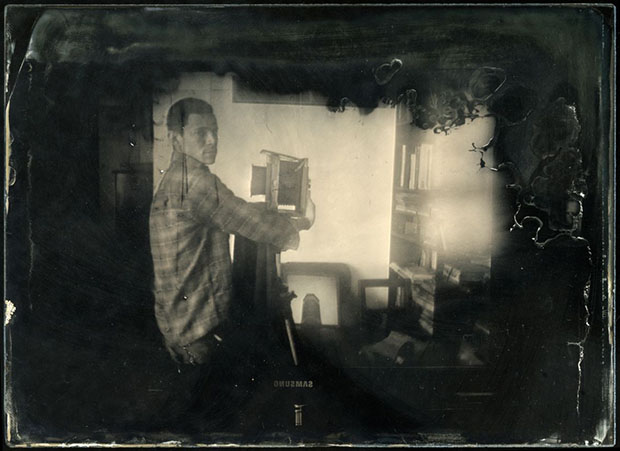 Mind Bending Reflection Portraits Shot Using a Wet Plate Camera trippy1a