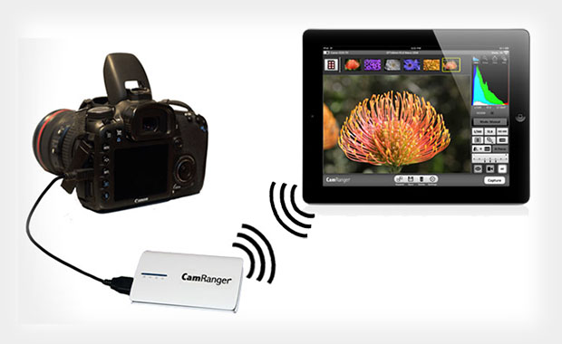 CamRanger: Wirelessly Control Canon and Nikon DSLRs with an iOS Device camranger1