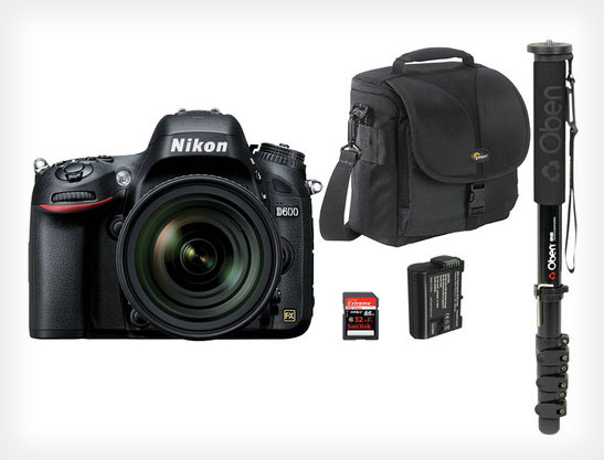 Nikon D600 Kits Plummet to Ridiculously Low Prices Around the Web d600bundle