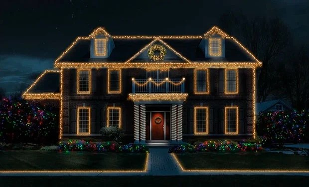Too Lazy to Put Up Christmas Lights This Year? Photoshop Can Help finish