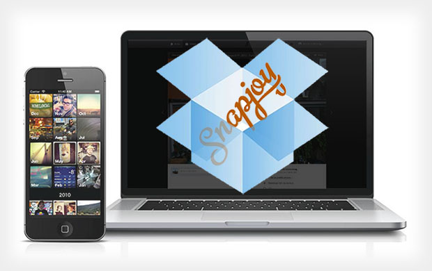 Dropbox Acquires Snapjoy, Gearing Up for Cloud Photo Sharing War snapdrop
