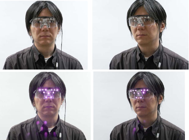 Anti Photography Glasses Prevent Facial Recognition from Doing Its Thing facedetectglass1