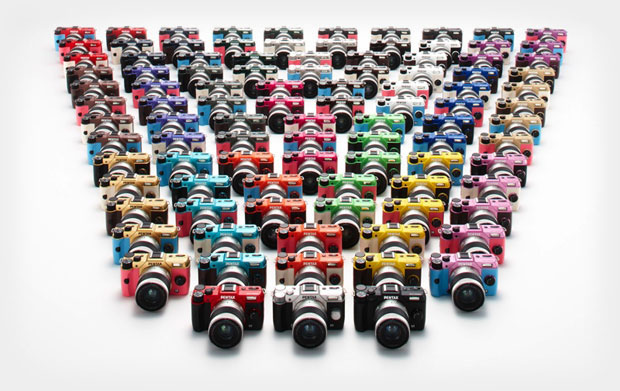 Pick a Color, Any Color: Pentax Offers 100 Custom Color Options for the Q10 ILC pentaxcolors