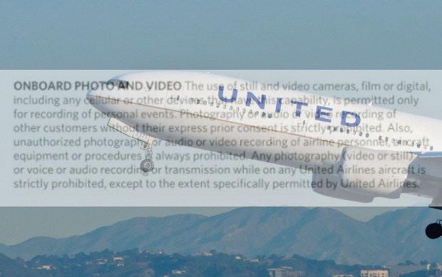Travel Writer Booted Off a United Airlines Flight for Taking a Picture of His Seat unitedphotovideo