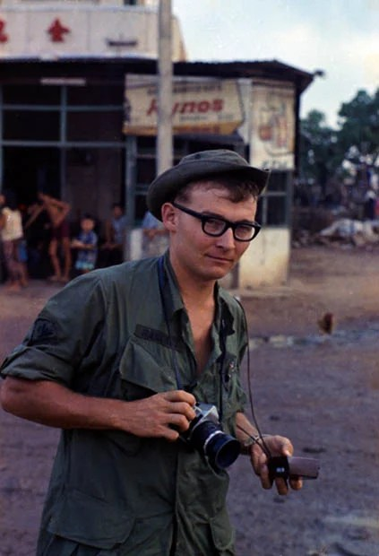 Vietnam Veteran Rediscovers and Shares His 45 Year Old Photo Archive charles