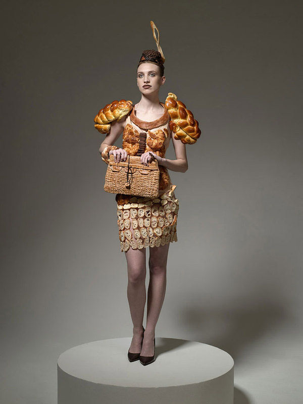 Bizarre Portraits of People Dressed In the Food Theyd Like to Eat fooddress 3
