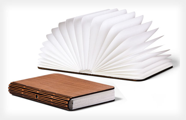 Lumio LED Lamp Folds Into a Book and Can Light Photo Shoots On the Go lumio1