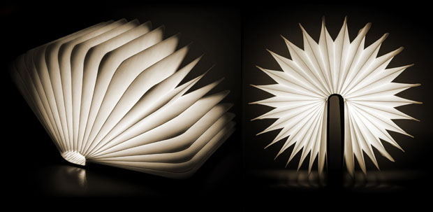 Lumio LED Lamp Folds Into a Book and Can Light Photo Shoots On the Go lumio4
