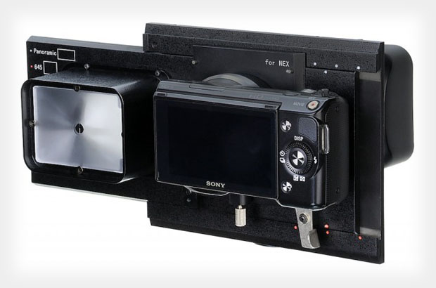RhinoCam Turns Your Sony NEX Into a Digital Medium Format Back rhinocam