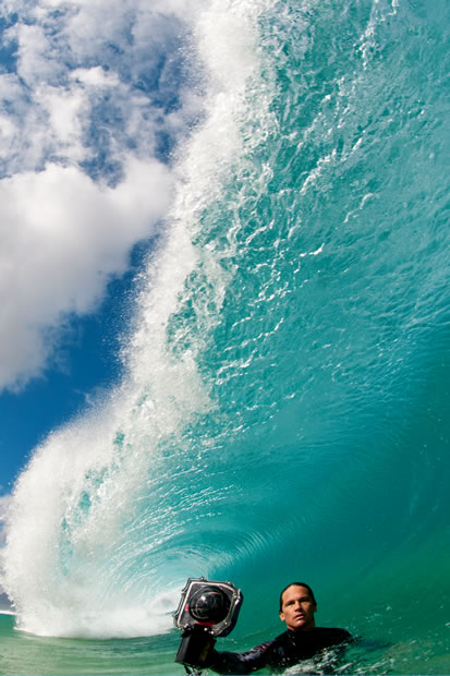 Interview with Shorebreak Photographer Clark Little clark with camera vertical 620