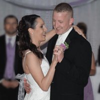 Wedding: Emily and Adam at DoubleTree East Syracuse, 8/1/15