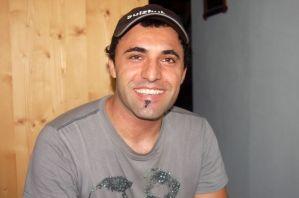 Der Koch im Berhhaus Sulzfluh kommt aus dem Iran.