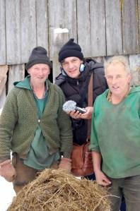 Bauern im Glarnerland.