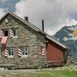 Uebernachtung in der Muttsee-Hütte.