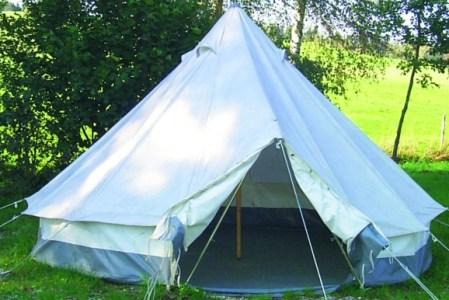 Ein Zelt für Obdachlose