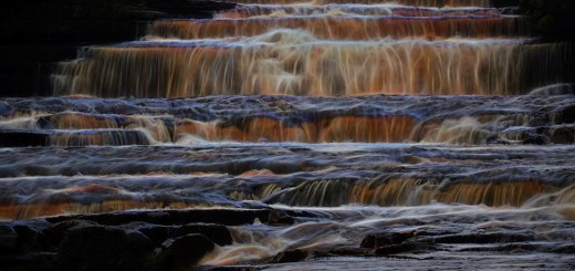Aysgarth Lower Falls Brilliant Fibres