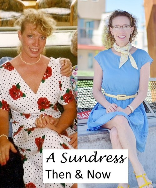 Fab Collab Sundress Theme, Then and Now