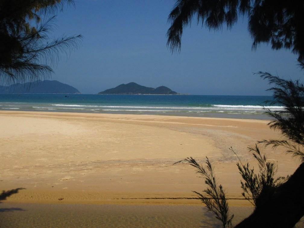 La plage de Dai Lanh