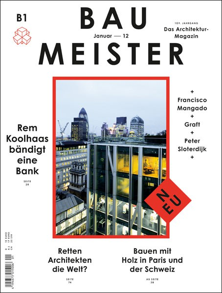 Baumeister Cover, Jan 2012