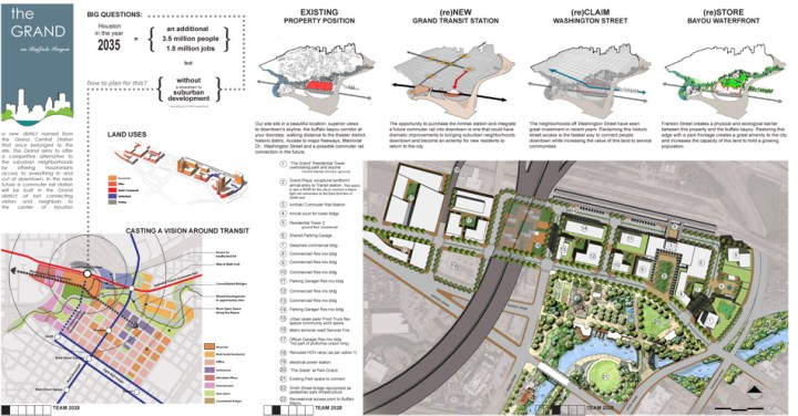 The ULI/Gerald D. Hines Student Urban Design Competition