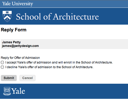 Yale University | pettydesign