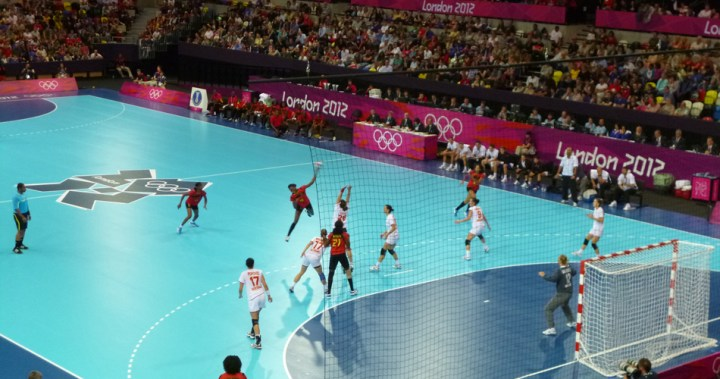 pettydesign | London2012 | Handball | The Copper Box | Angola vs Montenegro