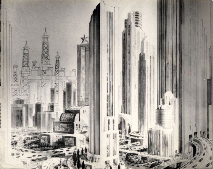 Future Houston from 1920 | pettydesign