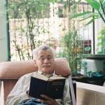 Prof. Barend Jan Terwiel als Gast in der Villa Athit in Bangkok. Bild © 2014 hmh.