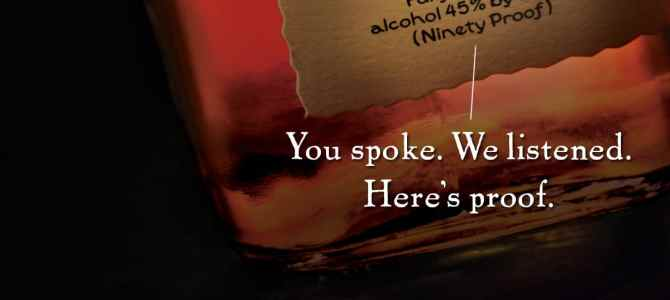 """You Spoke, We listened"" Maker's Mark transparently reverses it's decision"