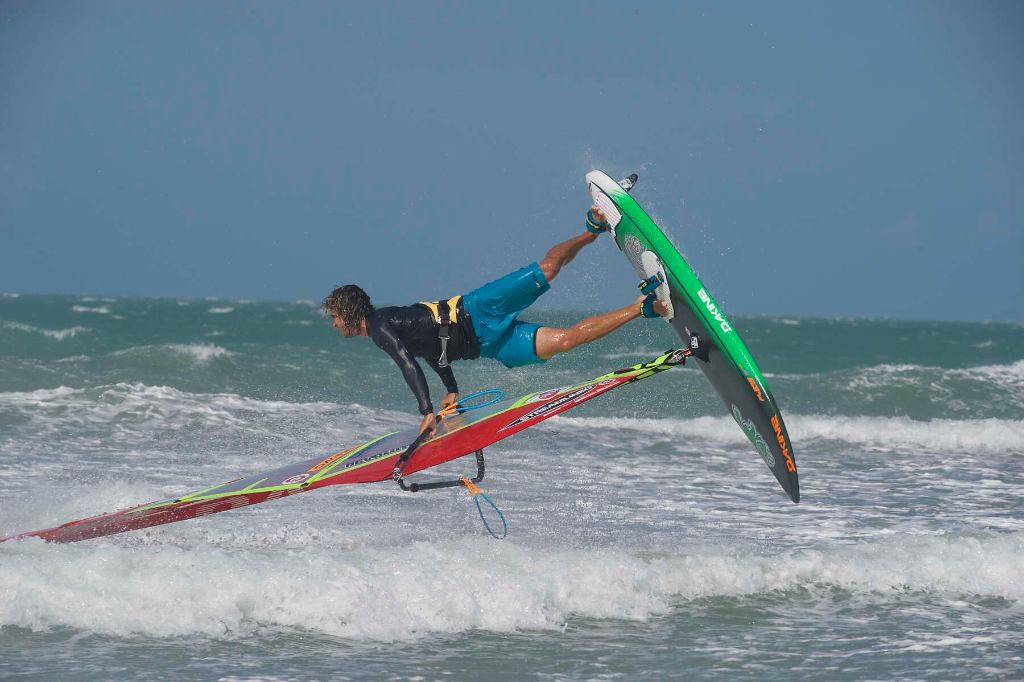Burner by Phil Soltysiak CAN 9 Windsurfing in Jericoacoara, Brazil. Photo by Adrian Irvine.