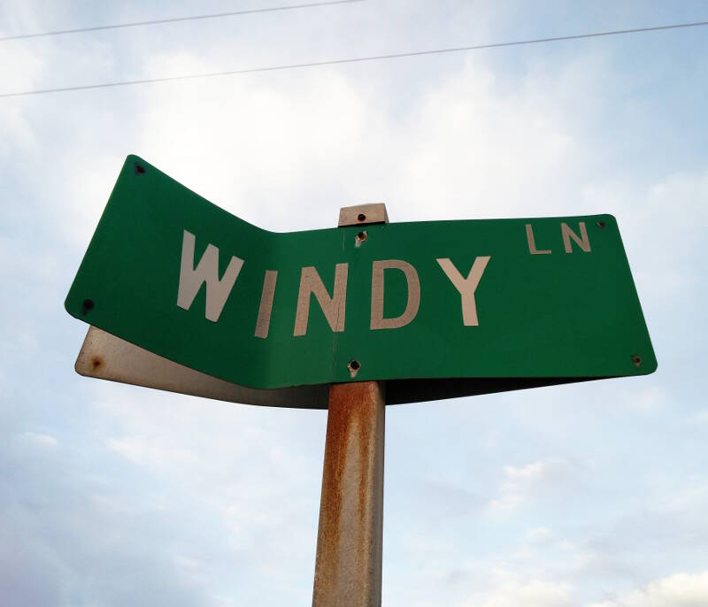 Windy Lane, Cape Hatteras, North Carolina.