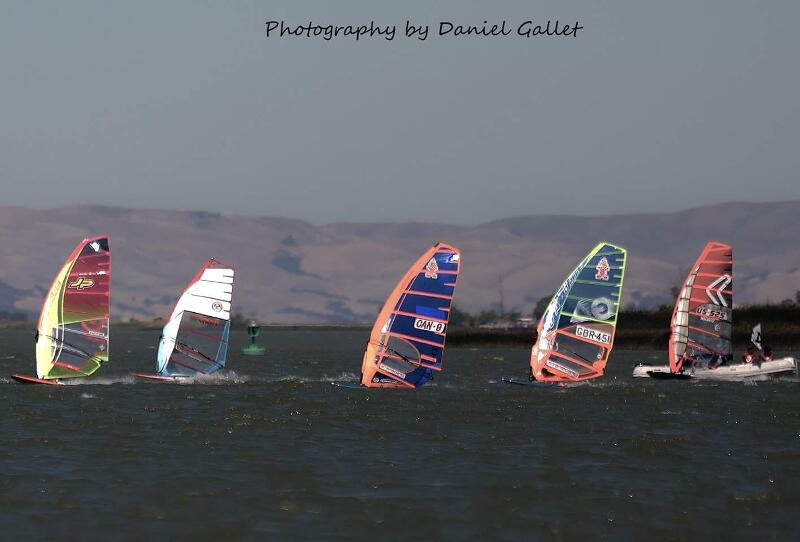Rio Vista Grand Slam slalom action. Photo by Daniel Gallet.