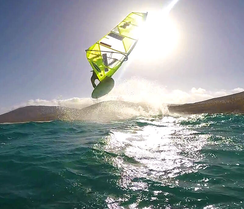 Phil Soltysiak Fuerteventura Air Flaka