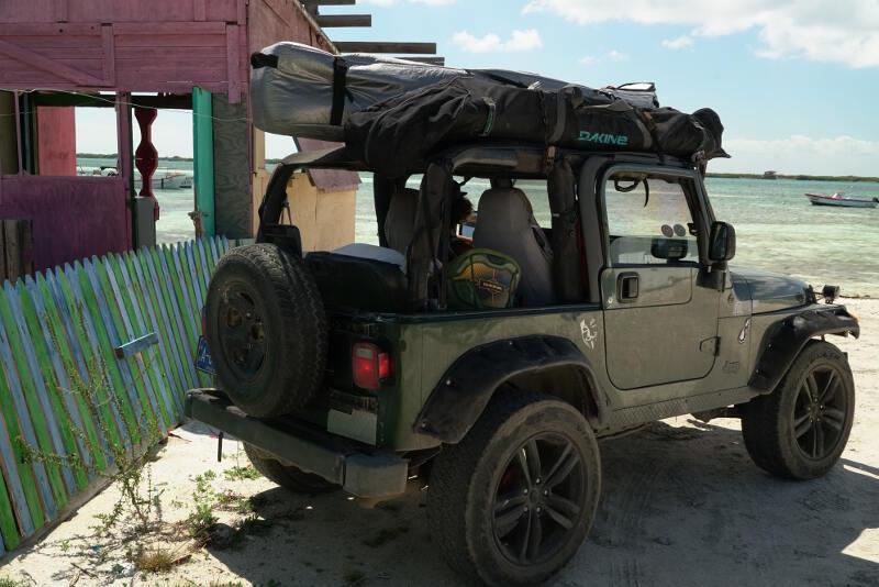 Our ride in Aruba.