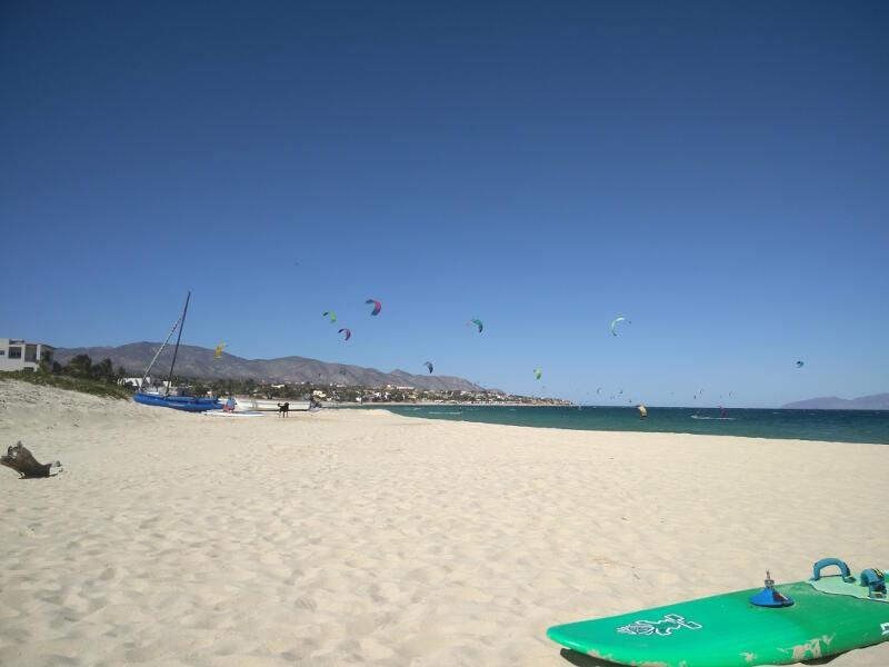 The beach at La Ventana
