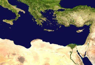 Crete by Satellite