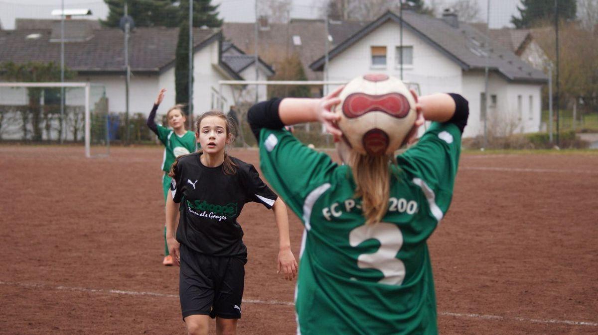 C-Juniorinnen Meisterrundenspiel vs P E L