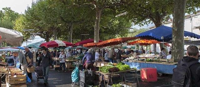Photo de la semaine 33: le marché fermier d'agen