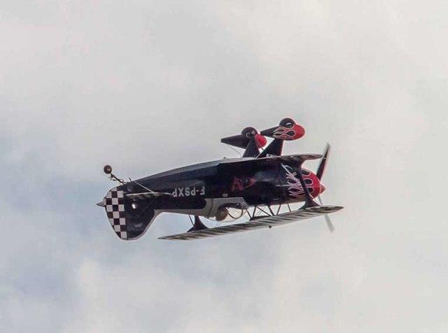 Le Pitts spécial avion biplan de voltige ©photo Patrick Clermont