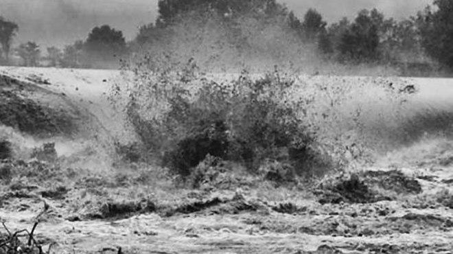 crue à Agen ©photo archive Patrick Clermont