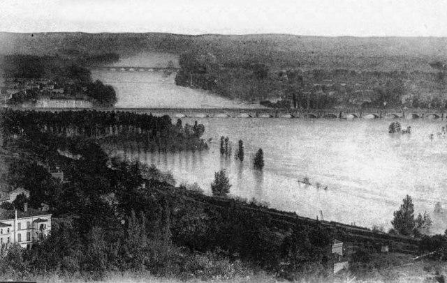 innondation 1918 ©photo archive Patrick Clermont
